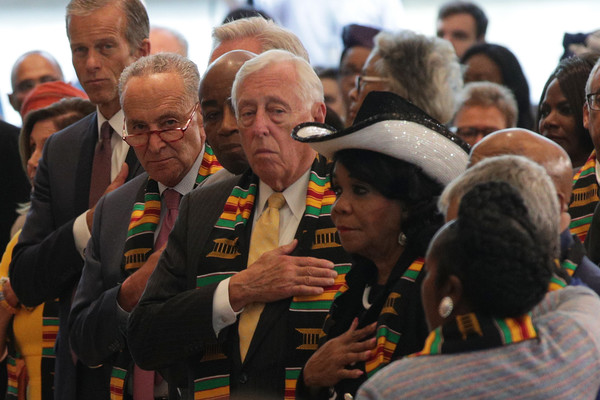 Congressional Black Caucus Hosts Ceremony Commemorating 400th Anniversary Of First-Recorded Forced Arrival Of Enslaved African People