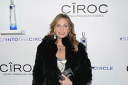 """Heather Thomson attends CIROC's """"Step Into The Circle"""" Launch hosted by Sean Diddy Combs in Times Square on November 19, 2014 in New York City."""