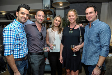 Stephanie Eglin Nathan Turner and the Village at Westfield Topanga Preview Party