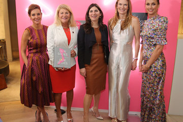 Stephanie Ruhle Saks Fifth Avenue Hosts Launch For 'Our Shoes, Our Selves' By Bridget Moynahan