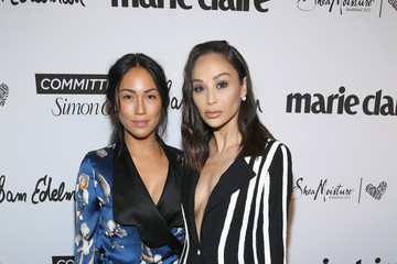Stephanie Shepherd Marie Claire Celebrates Fifth Annual Fresh Faces In Hollywood With SheaMoisture, Simon G. And Sam Edelman - Inside