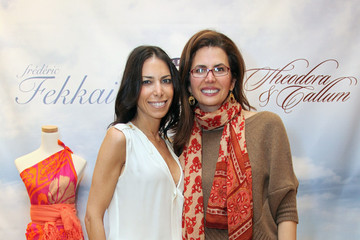Tanya Zuckerbrot Stephanie Winston Wolkoff, Stefani Greenfield, And Desiree Gruber Host A Theodora & Callum Holiday Shopping Event At Frederic Fekkai 5th Ave Salon