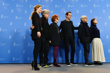 Stephanie Zacharek Chema Prado 'International Jury' Photo Call - 68th Berlinale International Film Festival