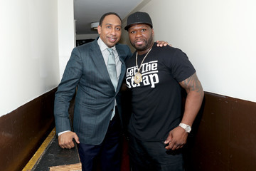 Stephen A. Smith Starz 'Power' The Fifth Season NYC Red Carpet Premiere Event And After Party