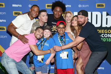 Stephen Amell #IMDboat At San Diego Comic-Con 2018: Day Three