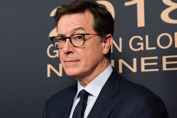 Stephen Colbert Showtime Golden Globe Nominees Celebration - Red Carpet