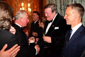 Stephen Fry The Prince Of Wales And Duchess Of Cornwall Attend Gala Concert At The Royal Opera House