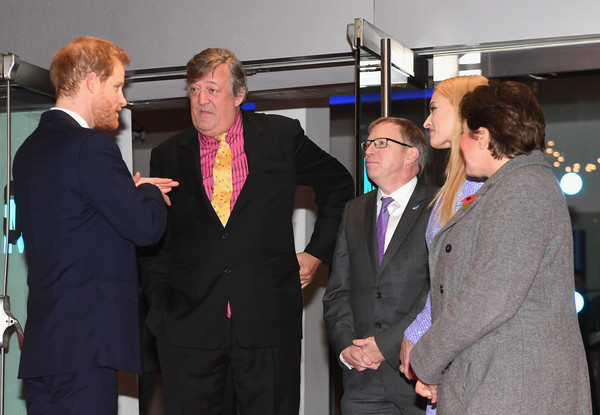 98106d2c63b Stephen Fry Photos - 44 of 600. Prince Harry Attends the Virgin Money  Giving Mind Media Awards