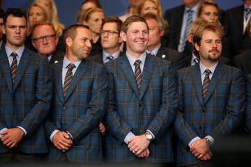 Stephen Gallacher Victor Dubuisson 40th Ryder Cup Opening Ceremony
