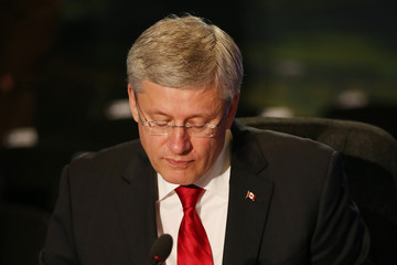 Stephen Harper NATO Summit Wales 2014 - Final Day