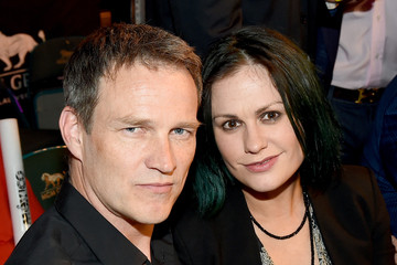 Stephen Moyer Ringside At 'Mayweather VS Pacquiao'