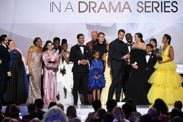 Sterling K. Brown Chrissy Metz 25th Annual Screen Actors Guild Awards - Inside