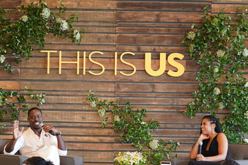 Sterling K. Brown Susan Kelechi Watson NBC's 'This Is Us' Pancakes With The Pearsons - Panel