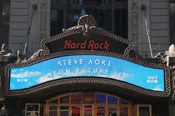 Steve Aoki Steve Aoki Appears At Hard Rock Cafe New York