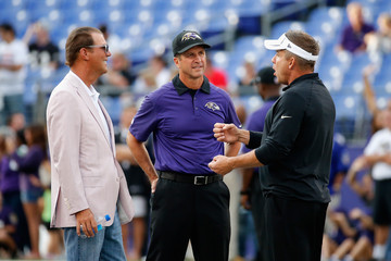 Steve Bisciotti New Orleans Saints v Baltimore Ravens