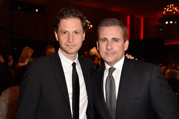 Steve Carell Bennett Miller Backstage at the 18th Annual Hollywood Film Awards