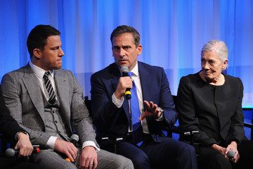 Steve Carell Channing Tatum The Academy Of Motion Picture Arts And Sciences Hosts An Official Academy Members Screening Of Foxcatcher