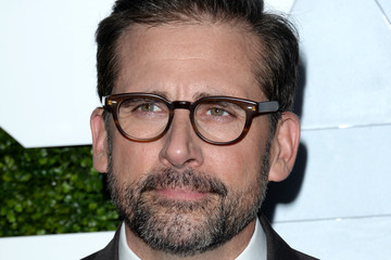 Steve Carell Arrivals at the GQ Men of the Year Party — Part 2