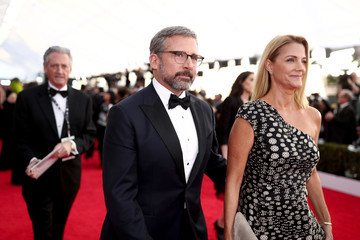 Steve Carell Nancy Carell 24th Annual Screen Actors Guild Awards - Red Carpet