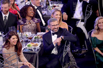 Steve Carell Nancy Carell 24th Annual Screen Actors Guild Awards - Show