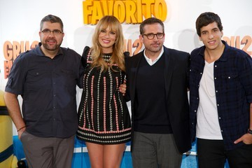 Steve Carell Patricia Conde 'Despicable Me 2' Photo Call in Madrid