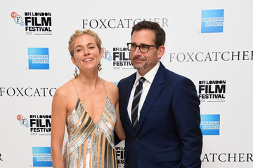 Steve Carell 'Foxcatcher' Premieres in London