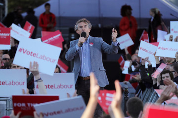 Steve Coogan Jeremy Corbyn Campaigns in the West Midlands