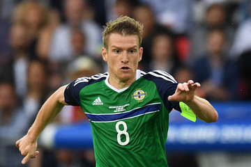 Steve Davis Northern Ireland v Germany - Group C: UEFA Euro 2016