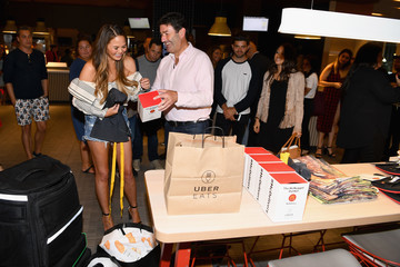Steve Easterbrook Chrissy Teigen Celebrates McDelivery Launch