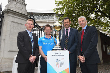 Steve Elworthy ICC Cricket World Cup Trophy Tour