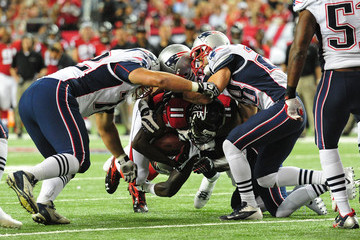 Steve Gregory New England Patriots v Atlanta Falcons