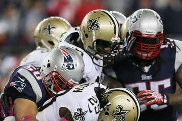 Steve Gregory New Orleans Saints v New England Patriots