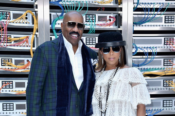 Steve Harvey Chanel : Front Row  - Paris Fashion Week Womenswear Spring/Summer 2017
