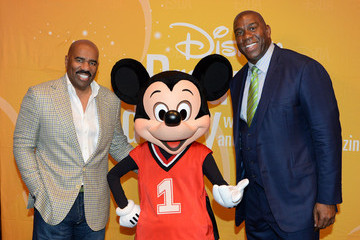 Steve Harvey Magic Johnson Visits Disney Dreamers Academy