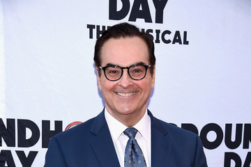 "Steve Higgins ""Groundhog Day"" Broadway Opening Night - Arrivals & Curtain Call"