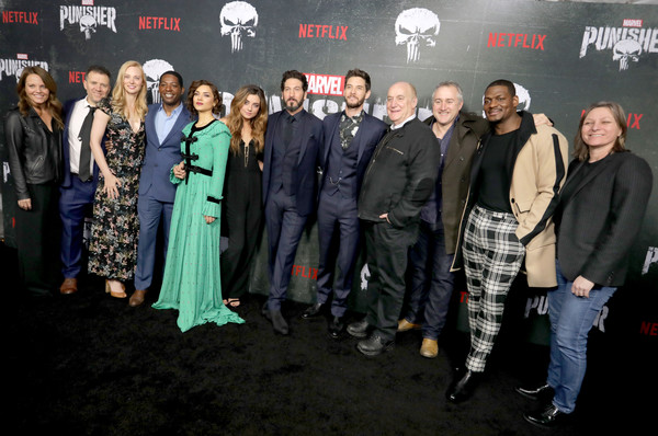 'Marvel's The Punisher' Seasons 2 Premiere [premiere,social group,event,movie,fictional character,jim ohanlon,allie goss,deborah ann woll,ben barnes,jon bernthal,giorgia whigham,seasons,arclight hollywood,marvels the punisher,premiere]