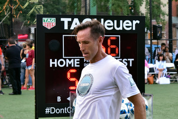Steve Nash TAG Heuer Is the Official Timekeeper of the 9th Edition Steve Nash Foundation Showdown New York With Landon Donovan and David Villa