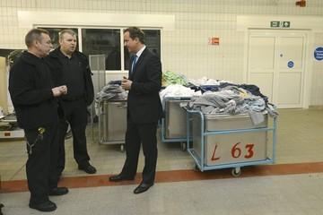 Steve Robinson Prime Minister David Cameron Visits Wormwood Scrubs Prison And Makes A Speech On Criminal Justice