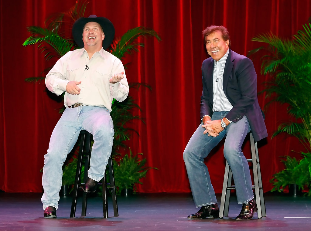 Garth Brooks in Steve Wynn Makes A Special Entertainment ...