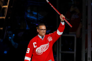 Steve Yzerman New Jersey Devils v Detroit Red Wings