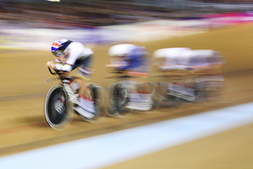 Steven Burke Track Cycling - European Championships Glasgow 2018: Day One