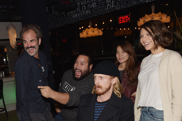 Steven Ogg Chris Evans, Lauren Cohan, and Lil Jon Host a Celebrity Gaming Event and Xbox Live Session in Atlanta
