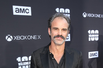 Steven Ogg 'The Walking Dead' 100th Premiere and Party