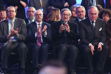 Steven Spielberg 70th Anniversary of the Liberation of Auschwitz