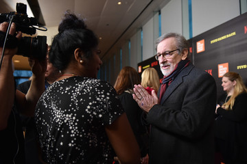 Steven Spielberg Various Celebrities Attend 'Five Came Back' World Premiere