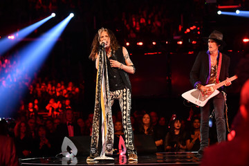 Steven Tyler Joe Perry 62nd Annual GRAMMY Awards - Inside