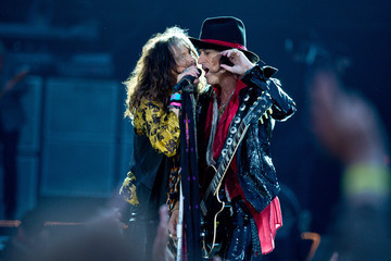 Steven Tyler Joe Perry Calling Festival - Day 1
