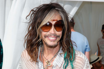 Steven Tyler LACOSTE Beautiful Desert Pool Party - Day 1