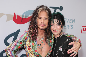Steven Tyler Steven Tyler's Third Annual GRAMMY Awards Viewing Party To Benefit Janie's Fund Presented By Live Nation - Red Carpet