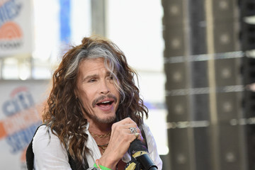 Steven Tyler Steven Tyler Performs on NBC's 'Today'